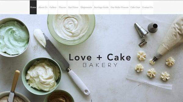 WixのWebサイト制作事例!パン屋(ベーカリー)・ケーキ屋編