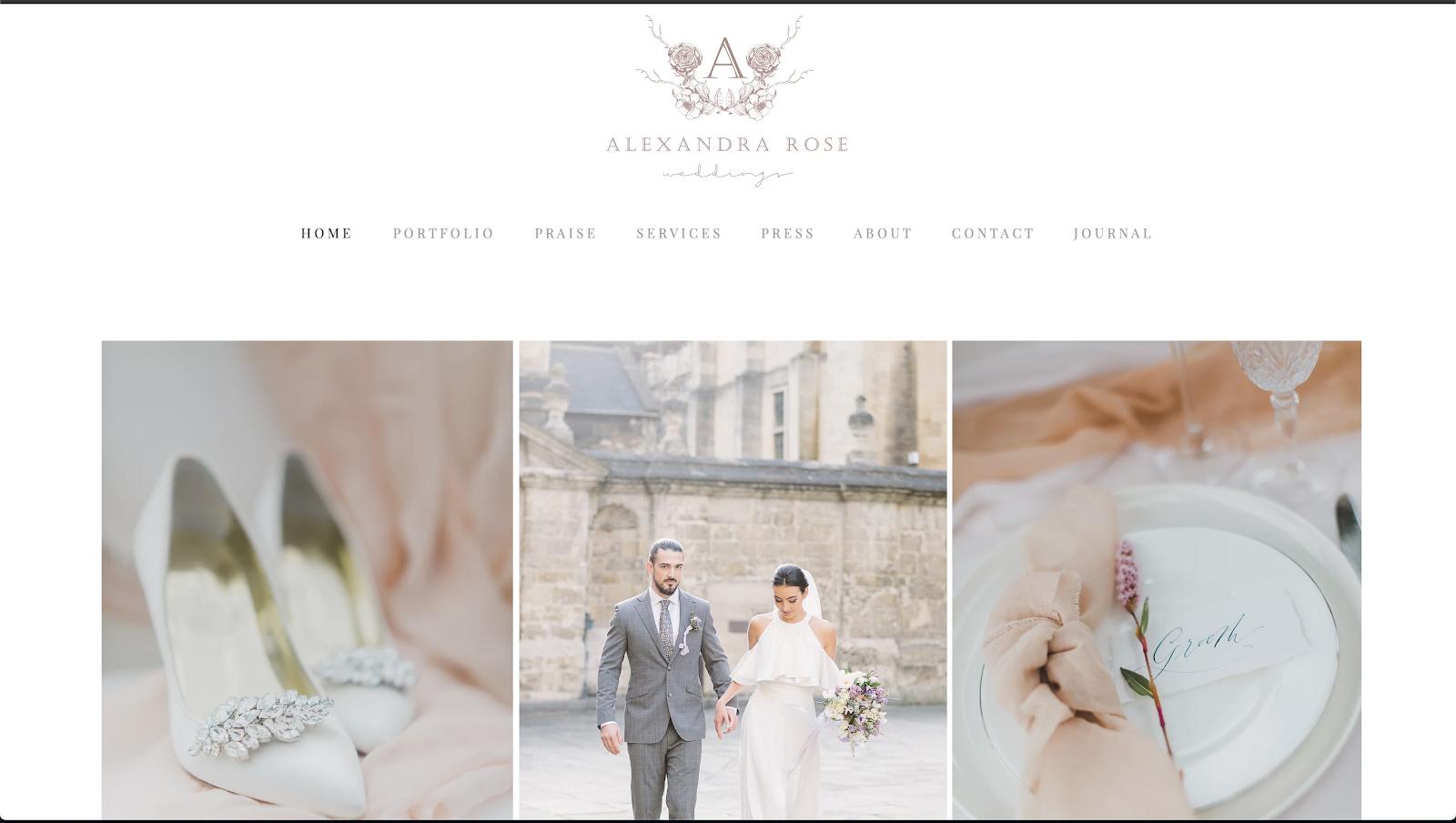 花屋 ウェブサイト制作事例3−1