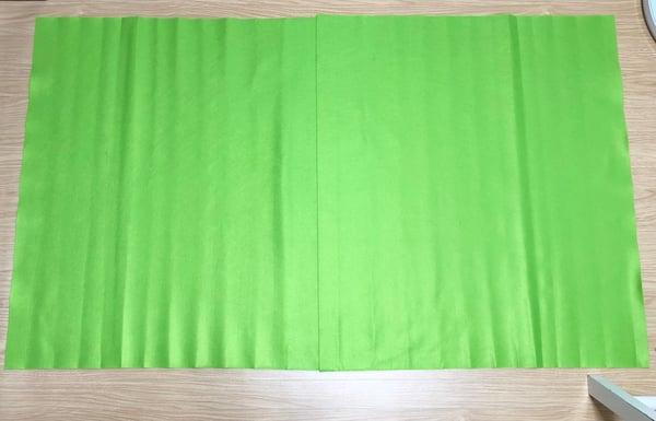 zoomでクロマキー合成!グリーンバックはダイソー素材で作れる3