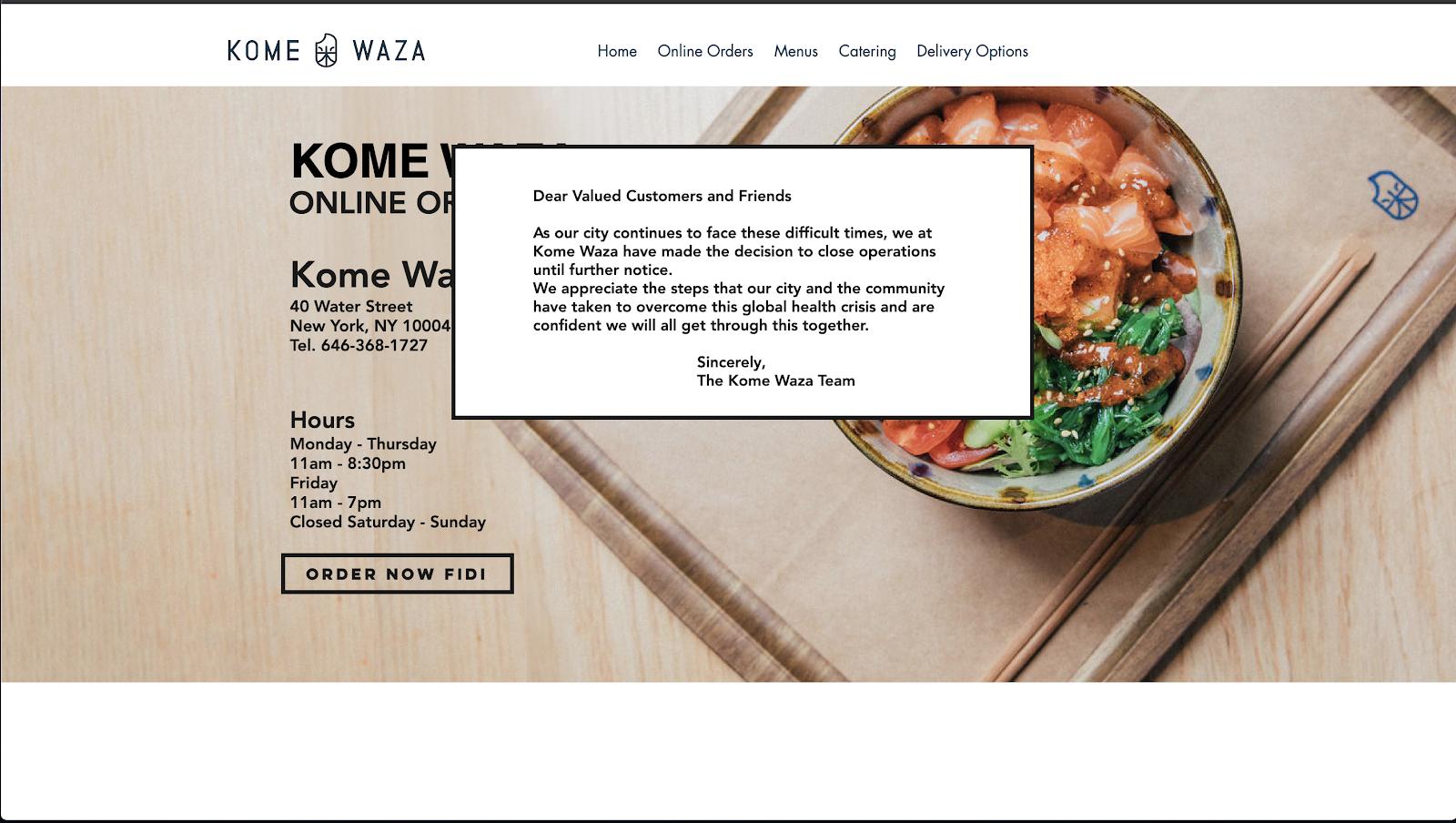 Wix ウェブサイト制作事例6